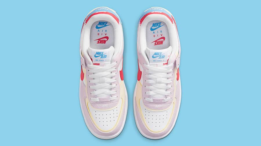 Nike cheap boys size 7 lebron shoes Shadow Pink Yellow DN5055-600 Top