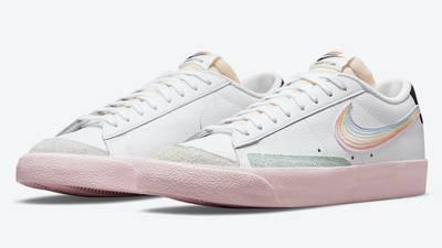 Nike Blazer Low Be True DD3034-100 Side