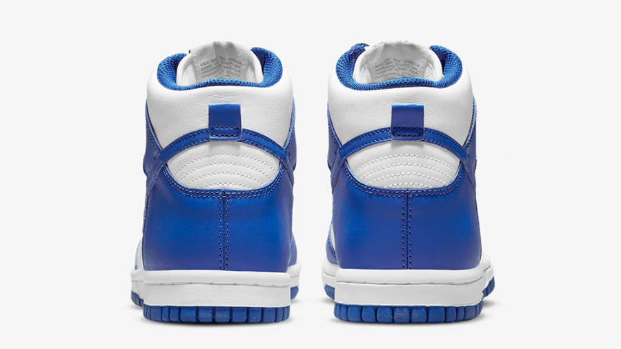 Nike Dunk High GS Game Royal Back