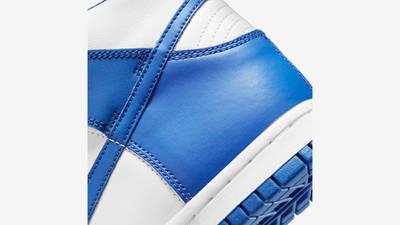 Nike Dunk High GS Game Royal Closeup
