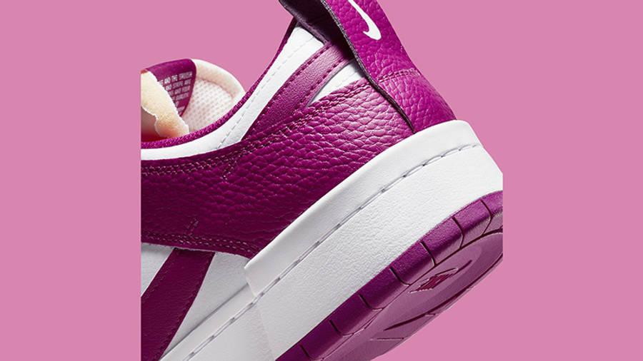 Nike Dunk Low Disrupt Cactus Flower DN5065-100 Back Detail