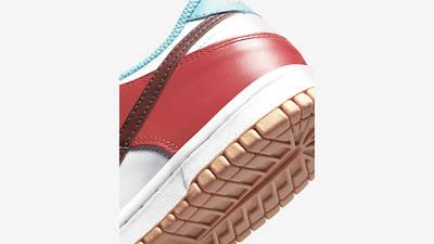 Nike Dunk Low Free 99 GS Asymmetric Multi CZ2496-100 Back Detail