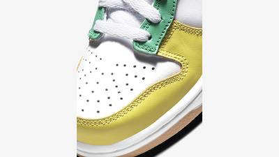 Nike Dunk Low Free 99 GS Asymmetric Multi CZ2496-100 Detail