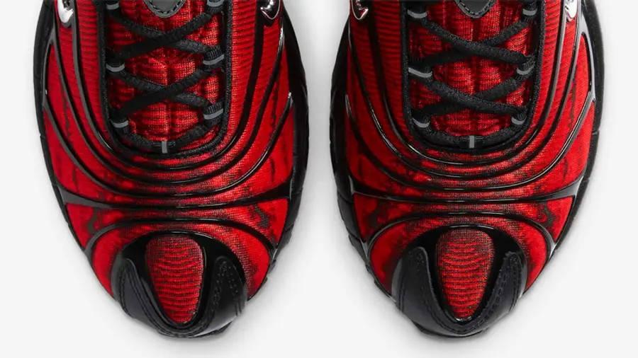 Skepta x Nike Air Max Tailwind 5 University Red CU1706-001 Front Detail