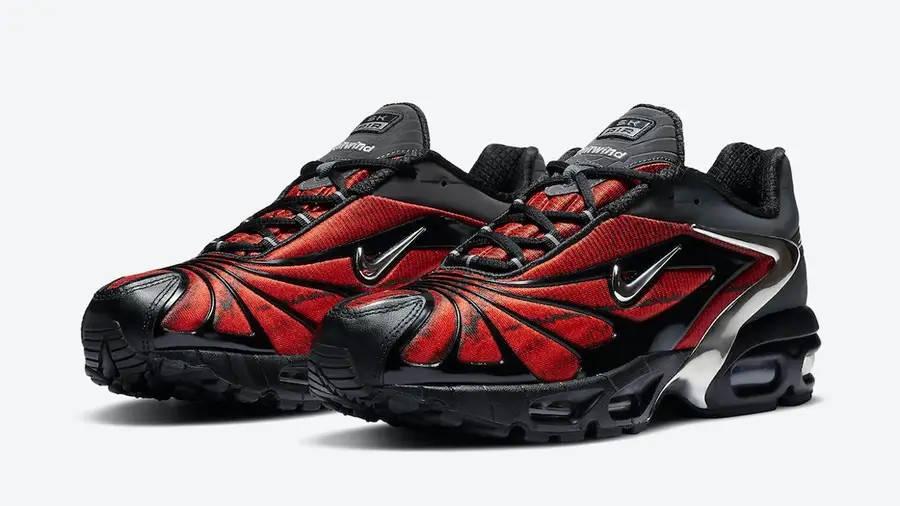 Skepta x Nike Air Max Tailwind 5 University Red CU1706-001 Side