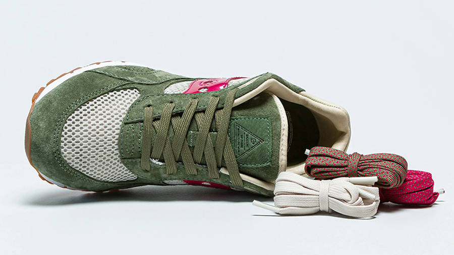 Up There x Saucony Shadow 6000 Doors To The World S70570-1 Laces