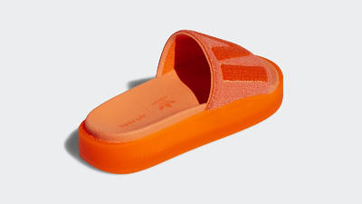adidas x IVY PARK Slides Solar Orange GX1196 Back