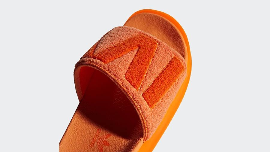 adidas x IVY PARK Slides Solar Orange GX1196 Detail