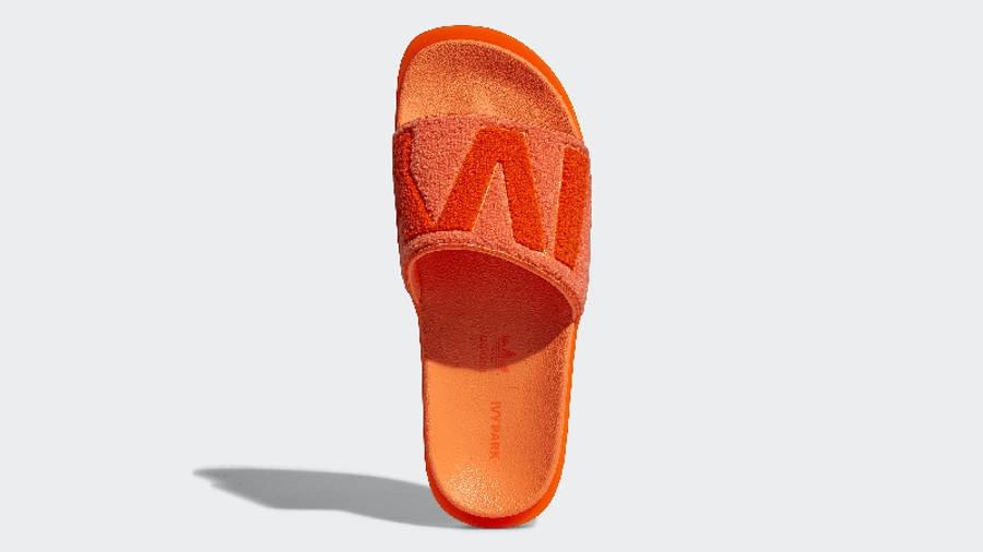 adidas x IVY PARK Slides Solar Orange GX1196 Top