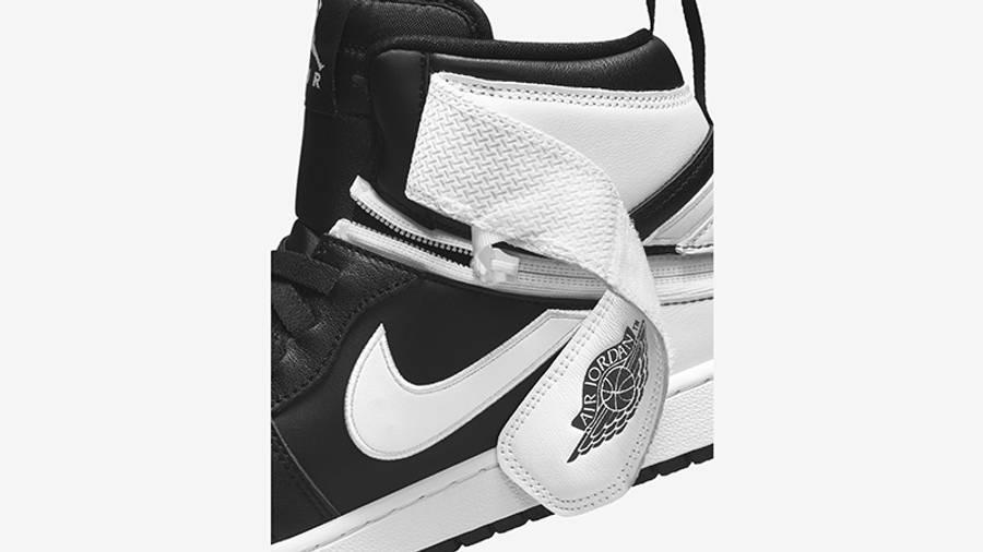 Air Jordan 1 Hi FlyEase Black White CQ3835-011 Detail 5