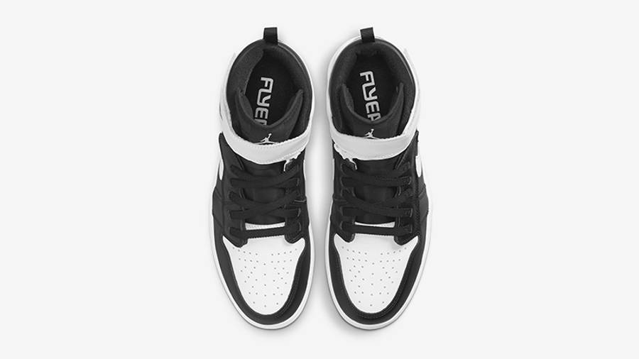 Air Jordan 1 Hi FlyEase Black White CQ3835-011 Top