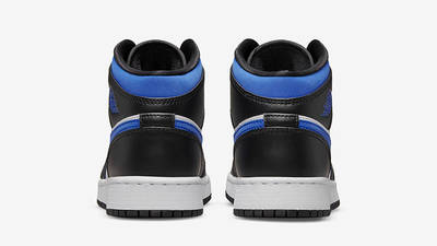 Air Jordan 1 Mid GS Black Racer Blue 554725-140 Back