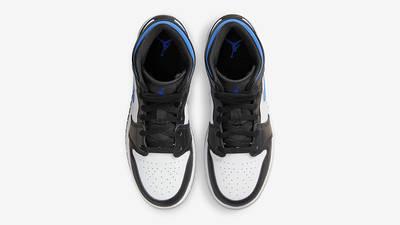 Air Jordan 1 Mid GS Black Racer Blue 554725-140 Top