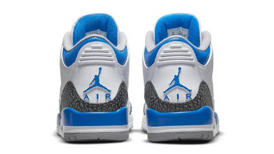 Air Jordan 3 Racer Blue 398614-145 Back