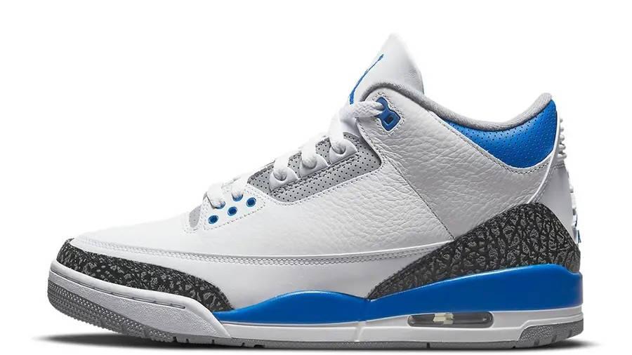 Air Jordan 3 Racer Blue 398614-145