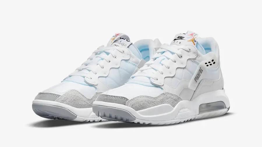 Jordan MA2 White Blue DM9480-100 Side