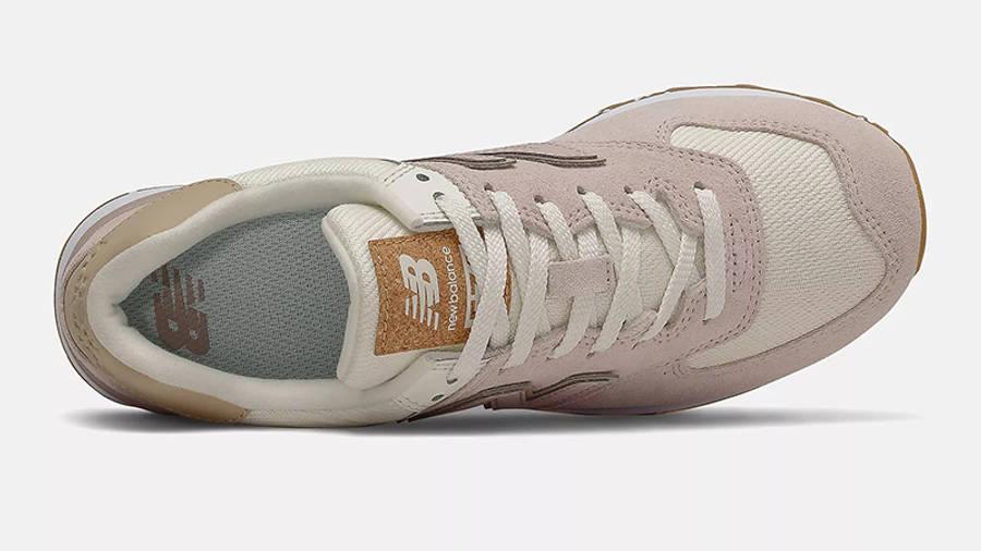 New Balance 574 Space Pink Angora WL574SP2 Top