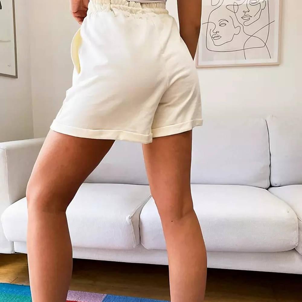 New Balance Palm Tree Boxer Shorts Cream Back