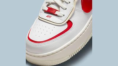 nike air force 1 shadow white red beige ci0919 108 detail 2 w400