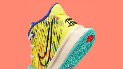 Nike Kyrie 7 GS 1 World 1 People Yellow CT4080-700 Detail