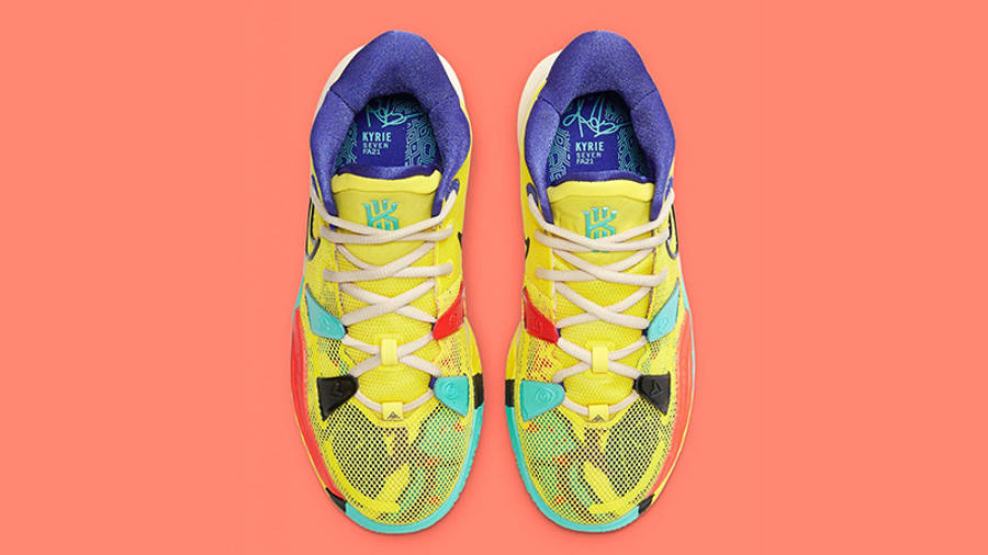 Nike Kyrie 7 GS 1 World 1 People Yellow CT4080-700 Top