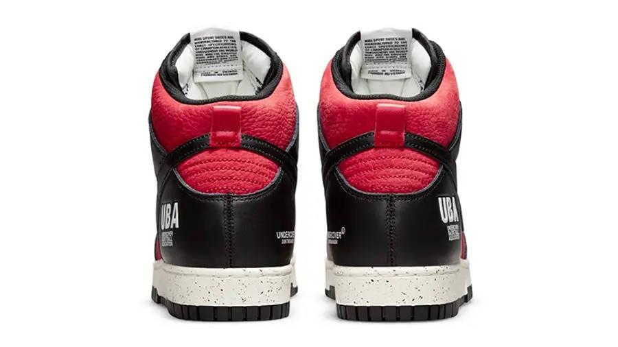 UNDERCOVER x Nike Dunk High UBA DD9401-600 Back