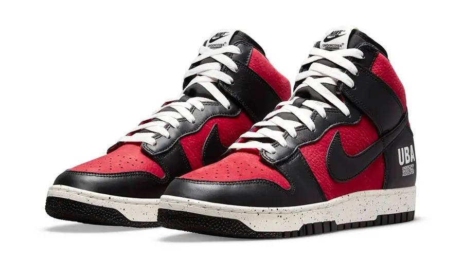 UNDERCOVER x Nike Dunk High UBA DD9401-600 Side