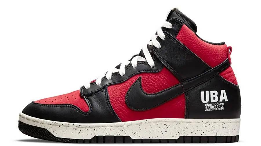 UNDERCOVER x Nike Dunk High UBA DD9401-600