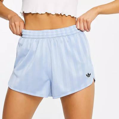 adidas Originals Striped Shorts Blue