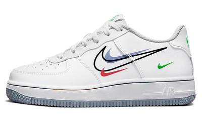 Nike Air Force 1 Low Multi Swoosh GS White DM9473-100