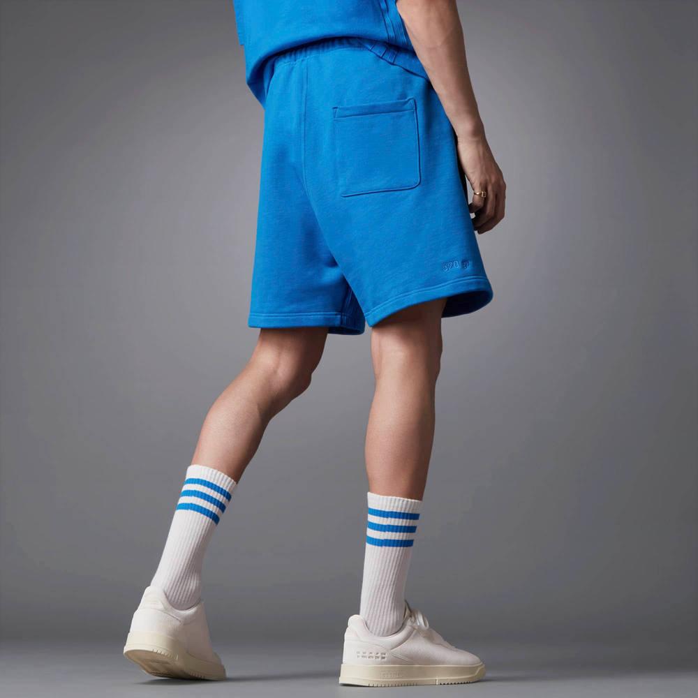 adidas Blue Version Essentials Shorts Blue Bird Back
