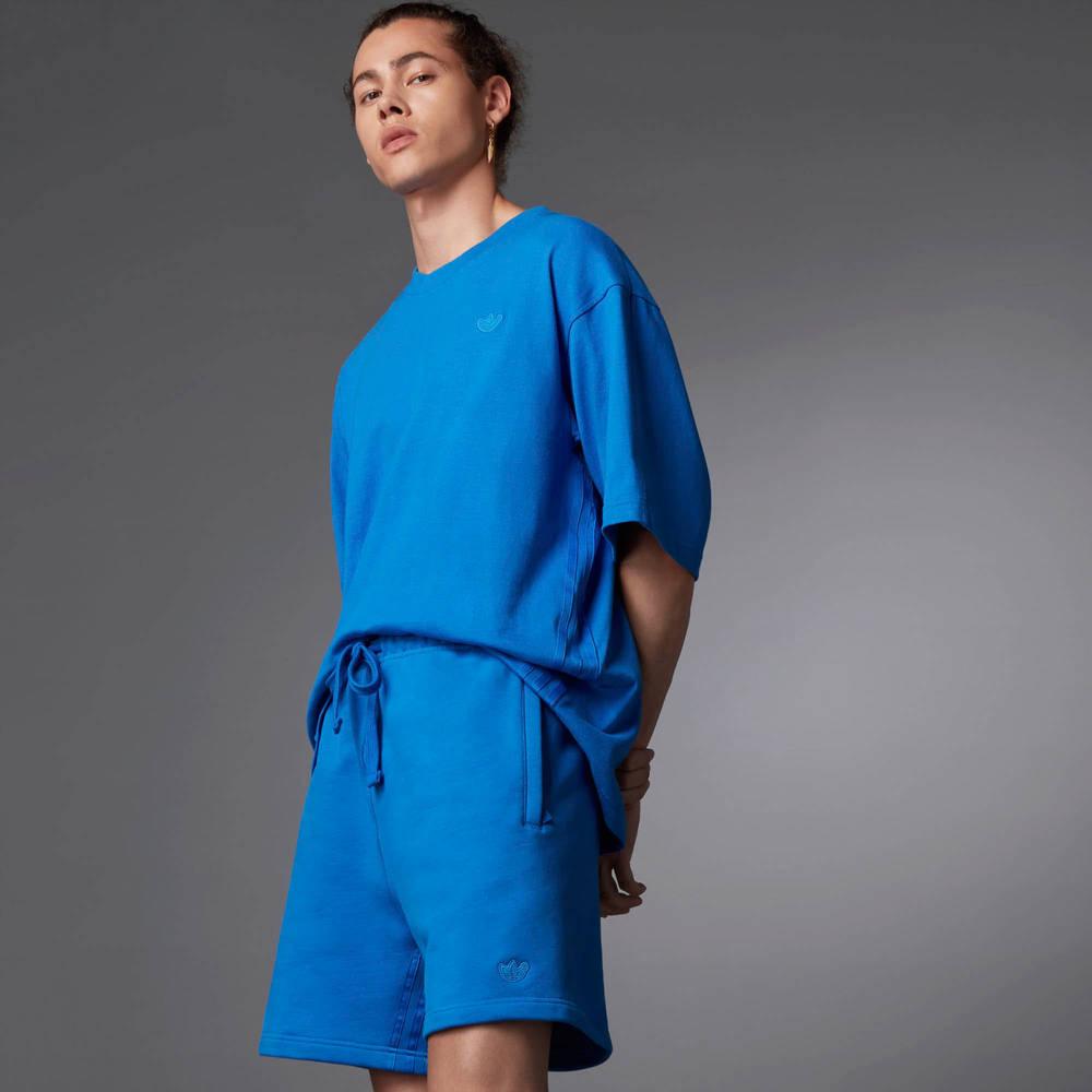 adidas Blue Version Essentials Shorts Blue Bird Full