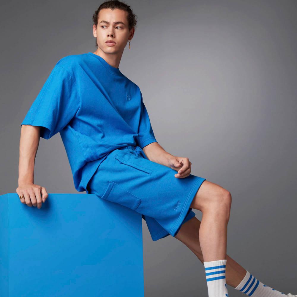 adidas Blue Version Essentials Shorts Blue Bird Lifestyle