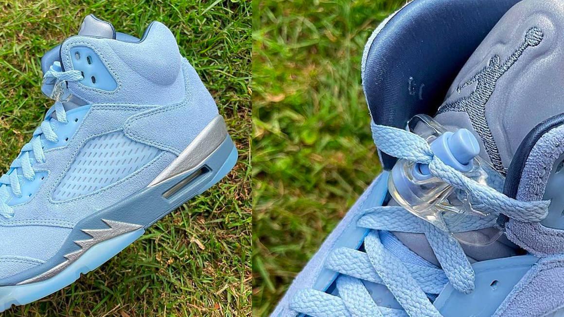 """Air Jordan 5 """"Bluebird"""""""