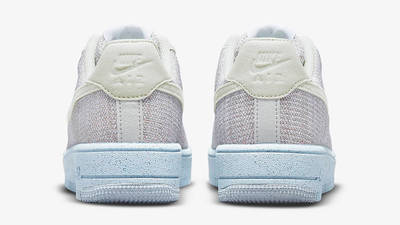 Nike Air Force 1 Crater GS White Chambray Blue DH3375-101 Back