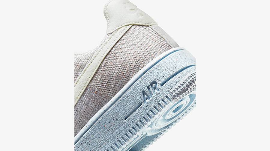 Nike Air Force 1 Crater GS White Chambray Blue DH3375-101 Detail 2