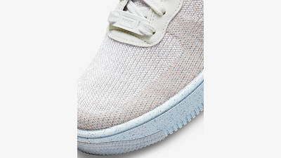 Nike Air Force 1 Crater GS White Chambray Blue DH3375-101 Detail