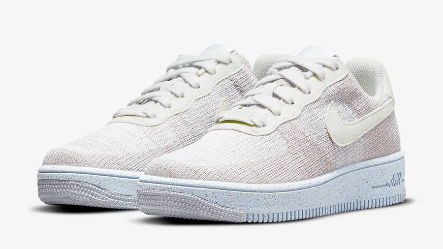 Nike Air Force 1 Crater GS White Chambray Blue DH3375-101 Side