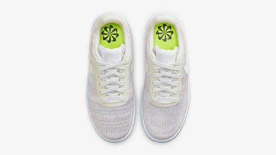 Nike Air Force 1 Crater GS White Chambray Blue DH3375-101 Top