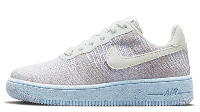 Nike Air Force 1 Crater GS White Chambray Blue DH3375-101