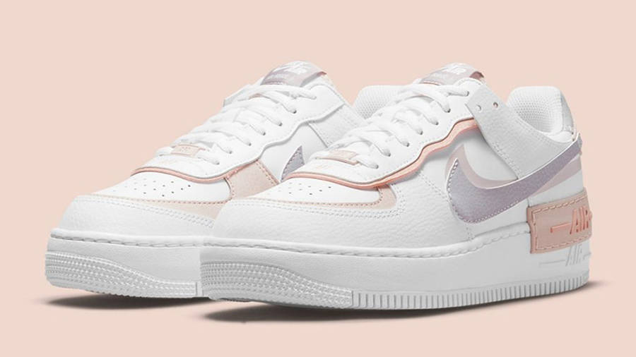 Nike Air Force 1 Low Shadow Amethyst Ash CI0919-113 front