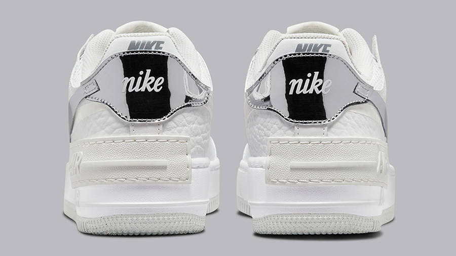 Nike Air Force 1 Shadow White Grey DQ0837-100 Back