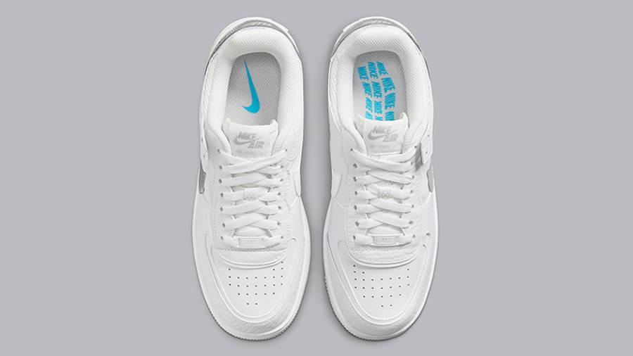 Nike Air Force 1 Shadow White Grey DQ0837-100 Top