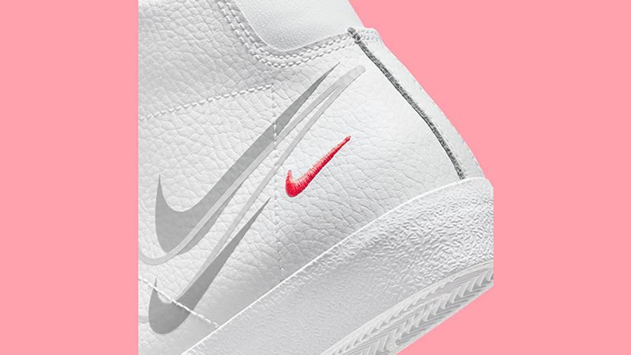 Nike Blazer Mid GS Multi Swoosh DO6487-100 Detail 2