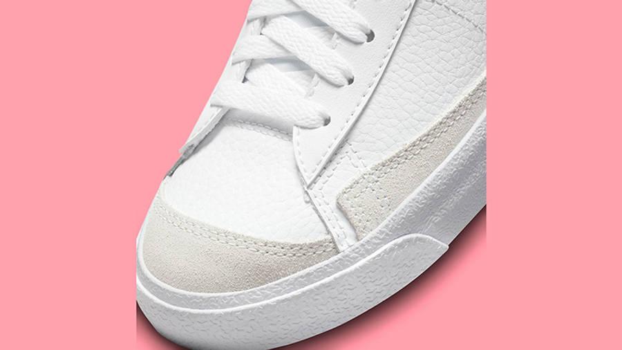 Nike Blazer Mid GS Multi Swoosh DO6487-100 Detail