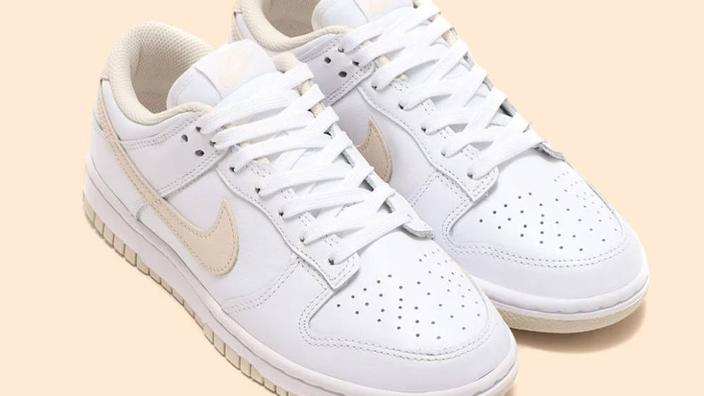 Nike Dunk Low Pearl White 2