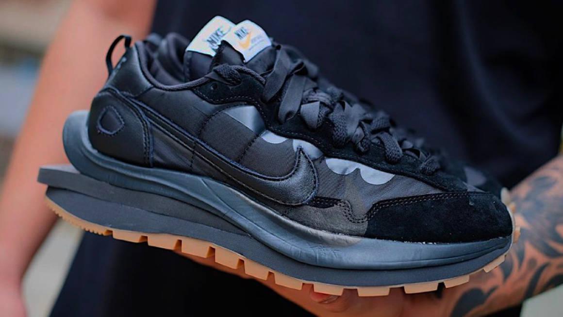 "sacai x Nike VaporWaffle ""Off Noir"""